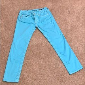 Teal Miss Me Skinny Jeans